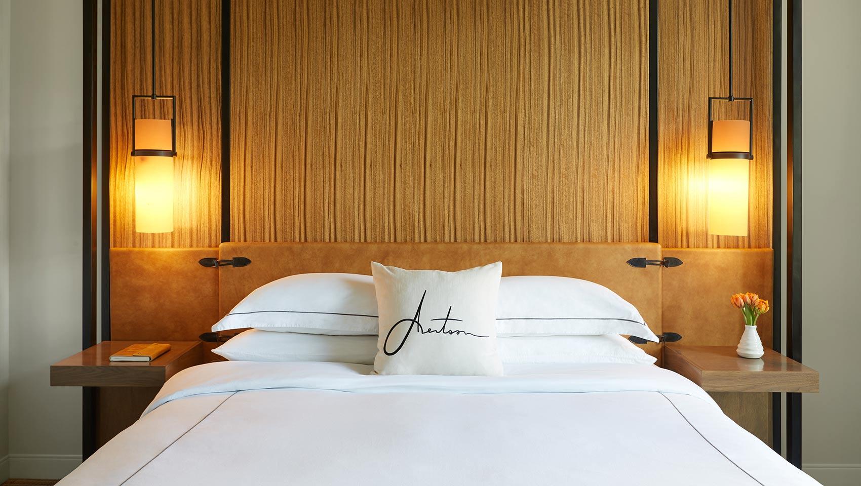 Aertson hotel room